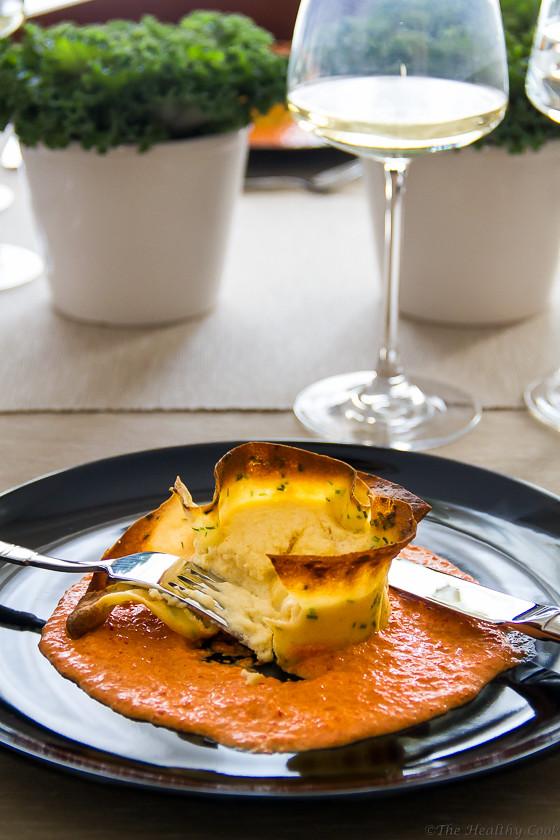 Cheese & Crepe Soufflés - Κρέπες με Σουφλέ Τυριών