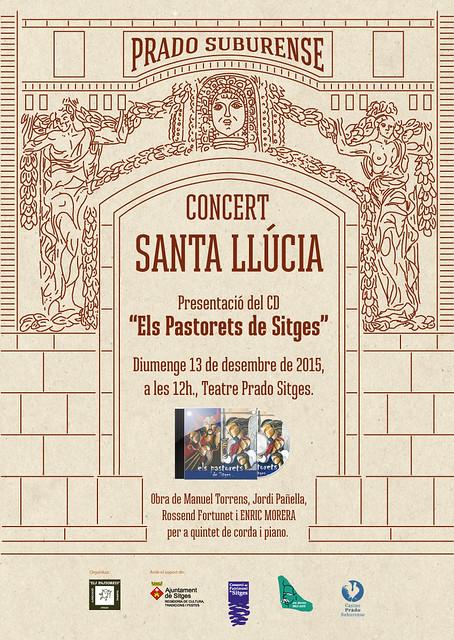 Concert Sta Llúcia amb música dels Pastorets