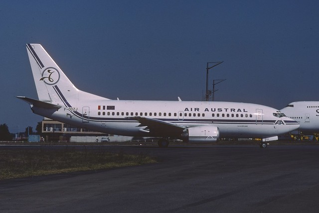 Air Austral Boeing 737-500; F-ODZJ, June 2000/ CBP
