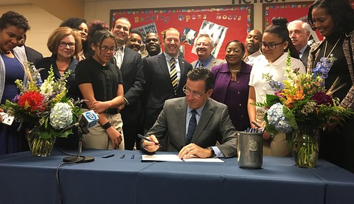 Bill Signing Ceremony for An Act Concerning the Recommendations of the Minority Teacher Recruitment Task Force | by Office of Governor Dan Malloy