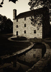 The Gristmill in Sepia