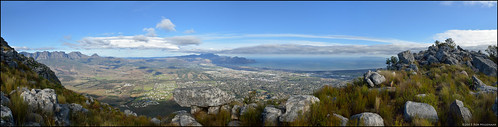 panorama landscape southafrica scenery helderberg somersetwest