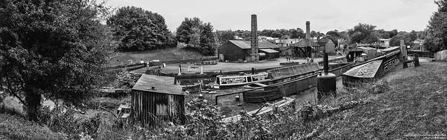 Industrial area panorama