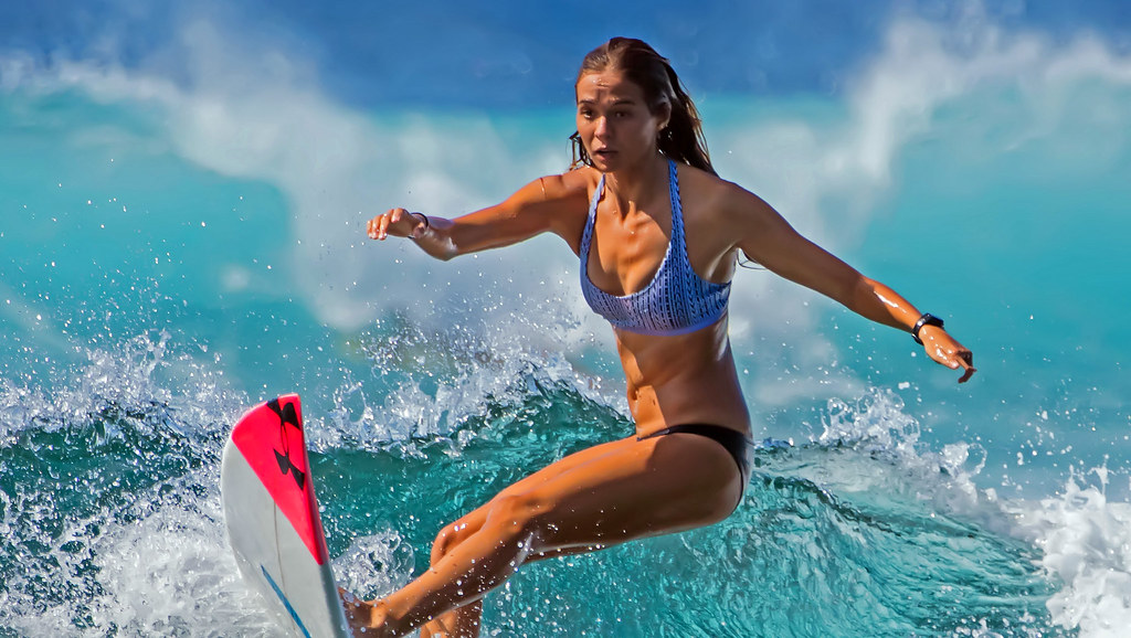 Brianna Cope, Pro Surfer, Koloa, Kauai. - Explored