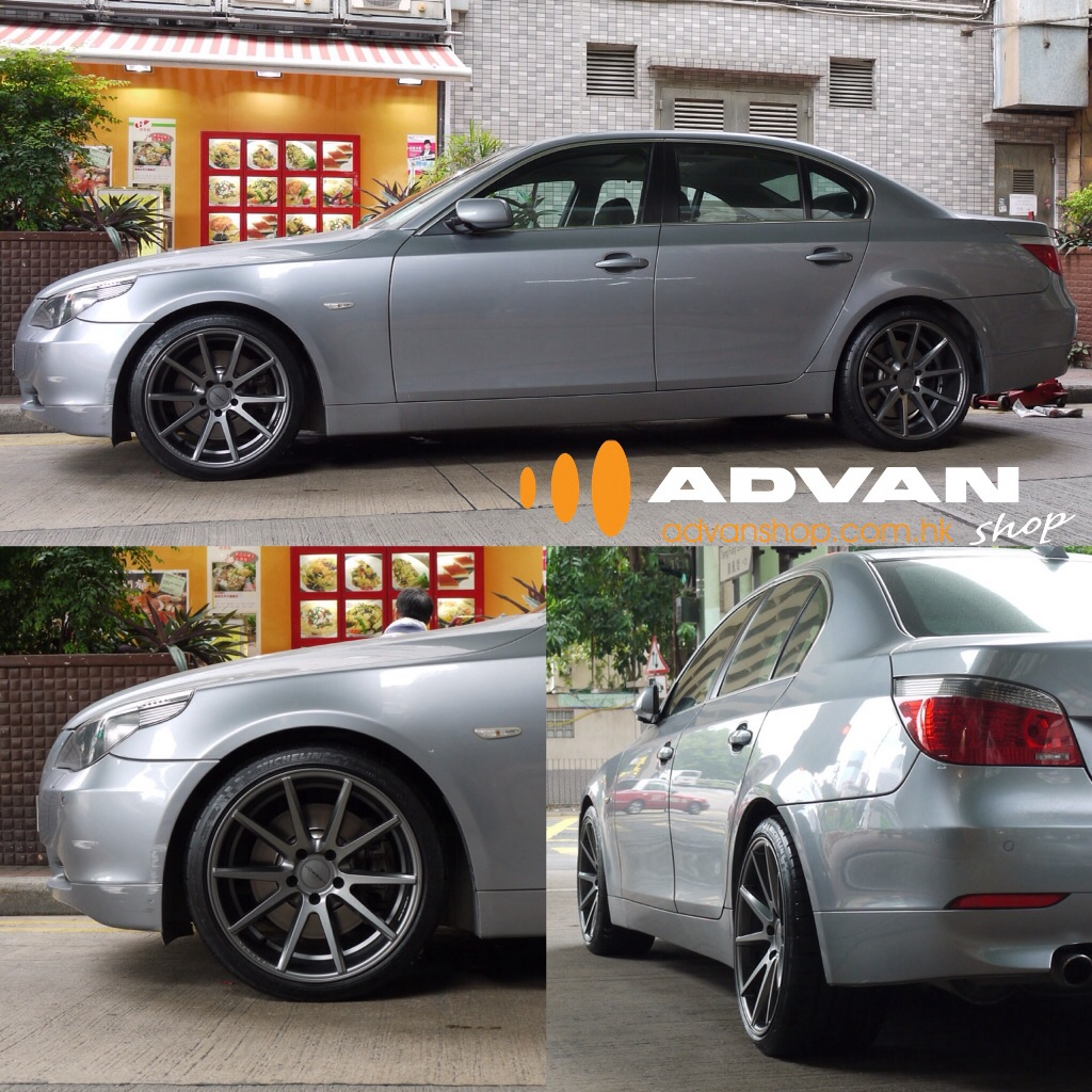 Bmw E60 5 Series With Vossen Vfs1 Flow Forged Wheelsadvan Flickr