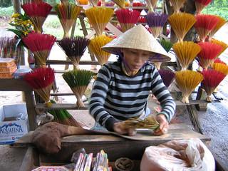 Vietnam Hanoi Incense Maker
