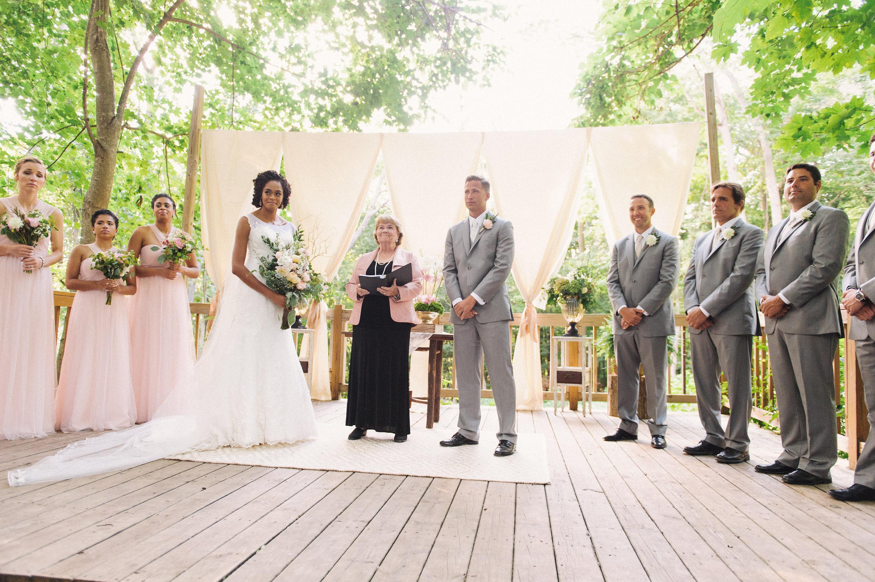 August 2015 wedding rental