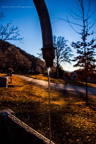 nature water sunrise canon eos schweiz switzerland wasser suisse alba brunnen natur natura andreas svizzera inverno colori fontana montagna motti gerber monti 50d allalba