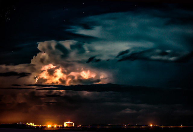 Stormcloud with lightning