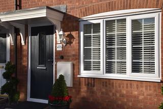 House with Black Composite Door | by Stormcladhomeimprovements