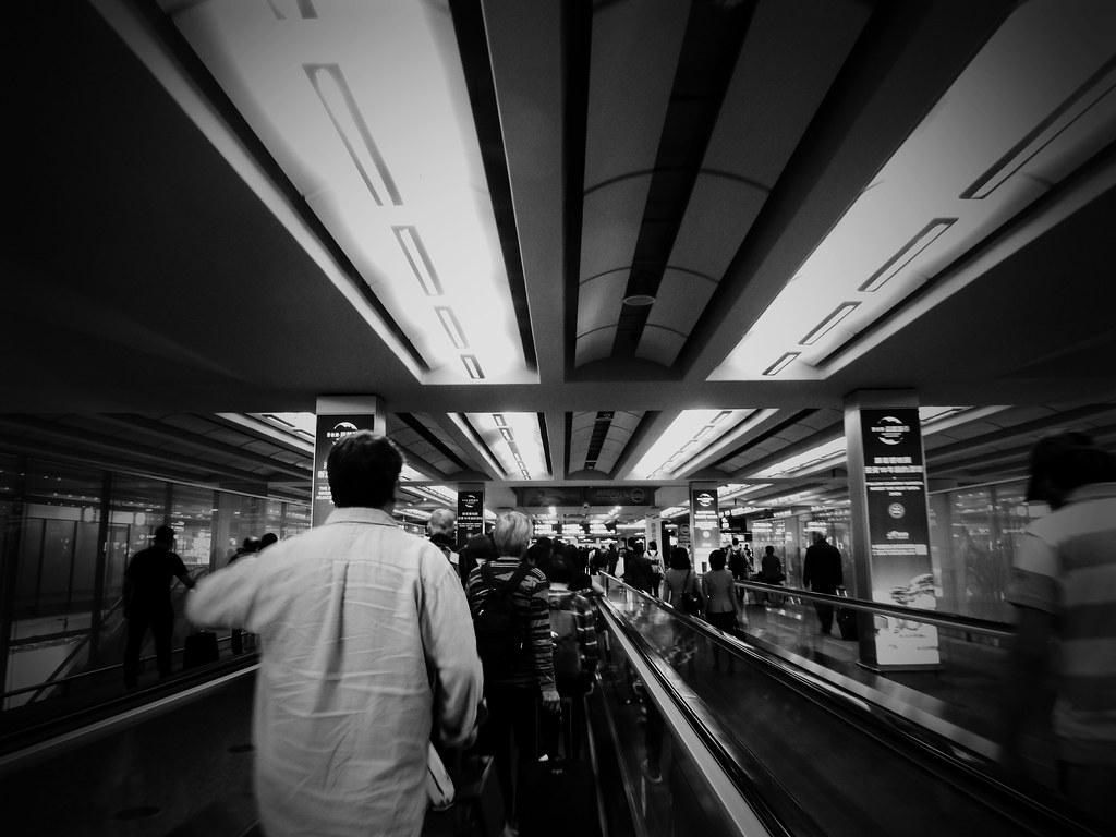 Arrivals Gate - Customs Hall, HKG