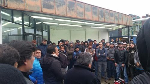 CTC reatoma movilización por #AcuerdoMarco