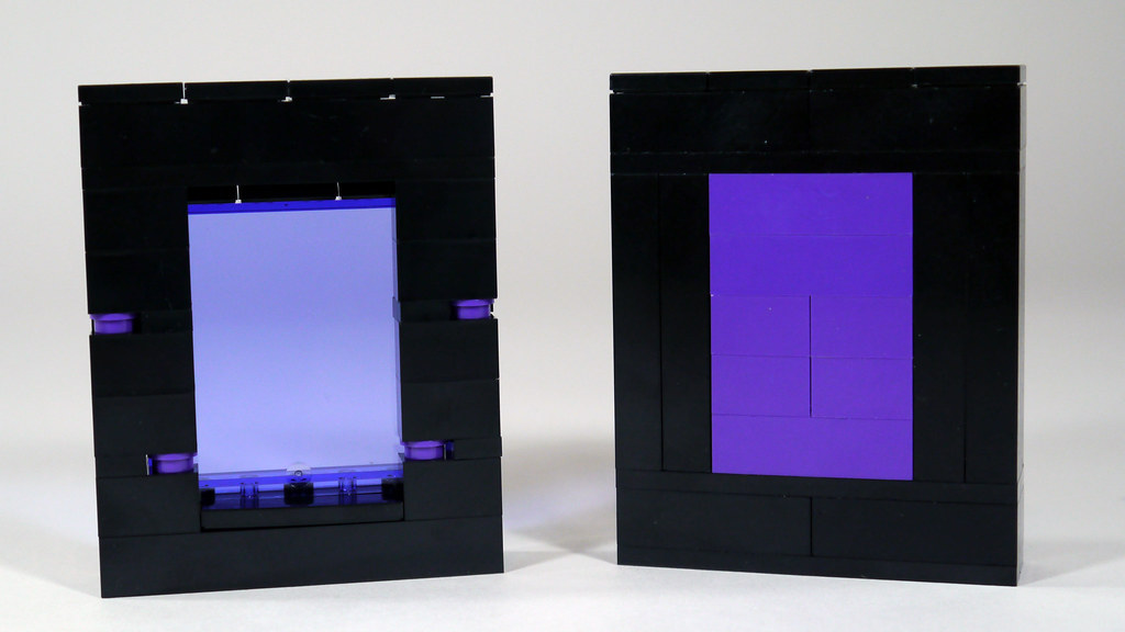 LEGO Minecraft Nether Portals | Watch my review of the 2015 … | Flickr