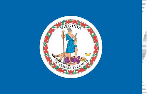 Virginia-printable-flag