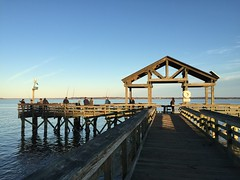 Day 312 - Fishing Pier, Leesylvania State Park, Woodbridge, Virginia