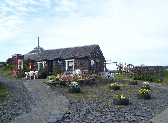 Argyll and Bute Ferry Waiting Room, Island of Easdale, 8th Aug 2015
