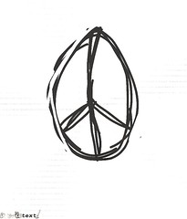 """Peace sketch by """"T"""""""