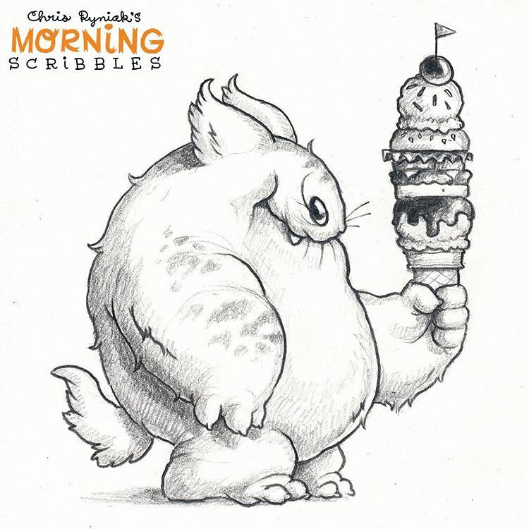 Well Balanced Diet Morningscribbles Chris Ryniak