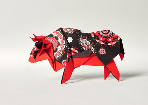 SACRED OX | by Origami Roman