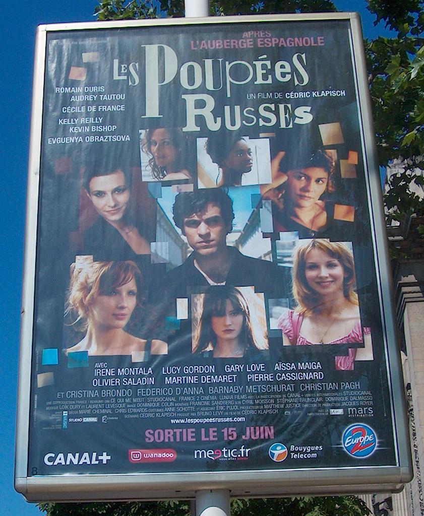 Paris Affiche Pouppees Russes