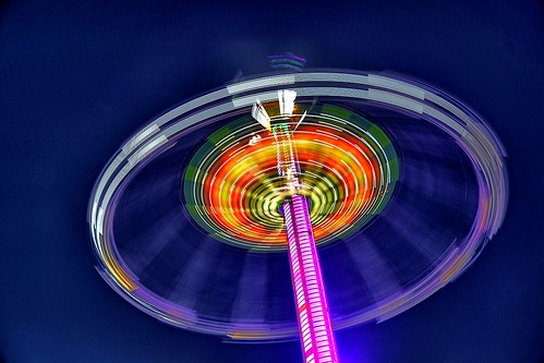 show carnival blue motion blur color colors kids night oregon fun outdoors lights amusement fairgrounds nikon ride bright outdoor statefair spin vertigo fast bluesky fair entertainment riding enjoy spinning wife handheld amusementpark rides salem bluehour midway magical hdr thrill oregonstatefair kirt funtastic salemoregon gaylene easyhdr magicalhour fairatnight edblom nikond7100 kirtedblom