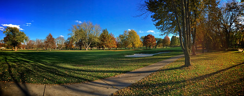 trees sky fall leaves clouds golf lawrence ks course kansas lcc bentgrass iphone6backcamera415mmf22 lawrencecountryclub