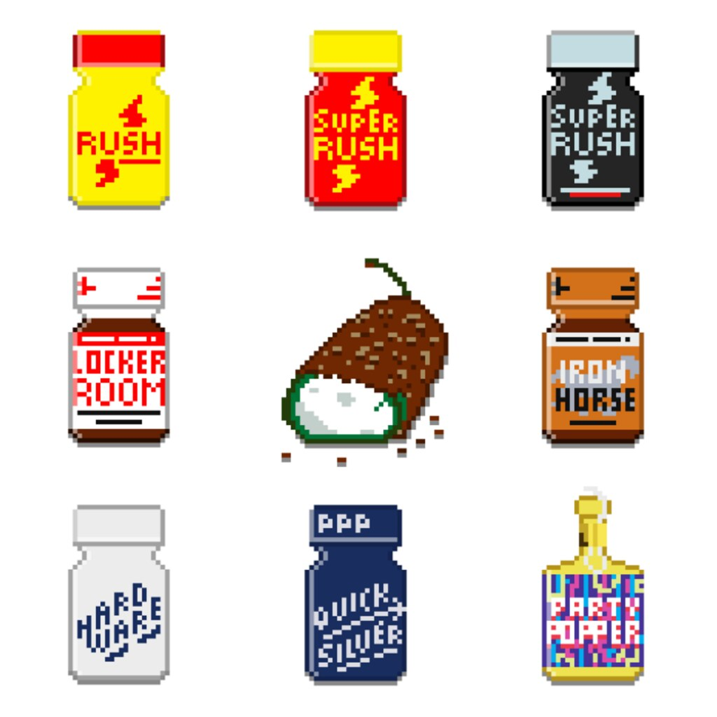 pixeltober day 1: poppers - Topher McCulloch - Flickr
