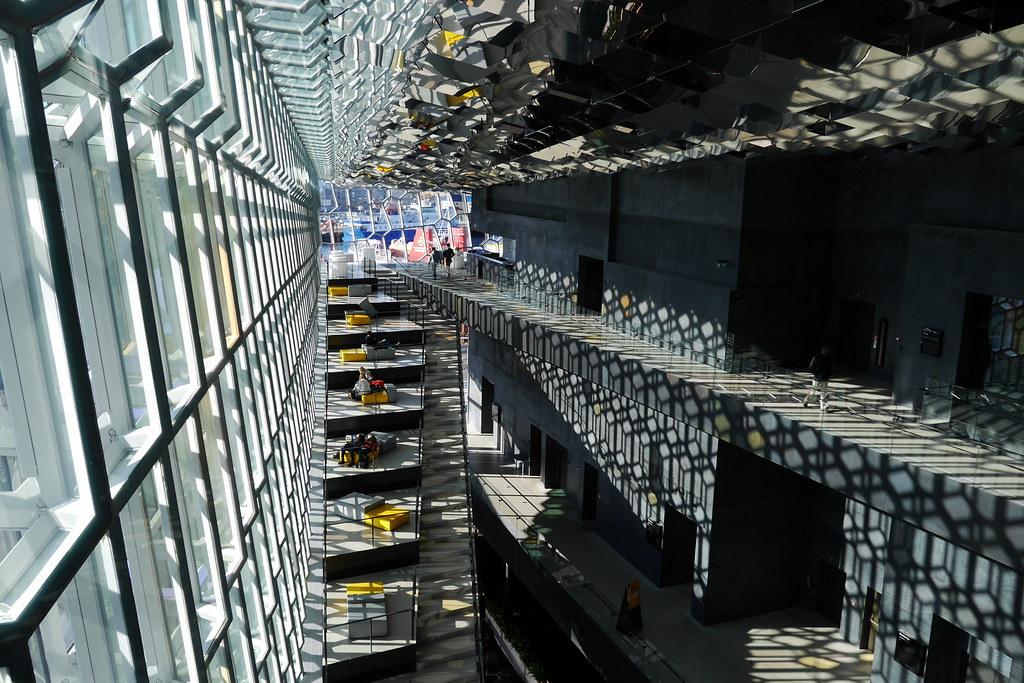 Harpa Inside - From Top Floor