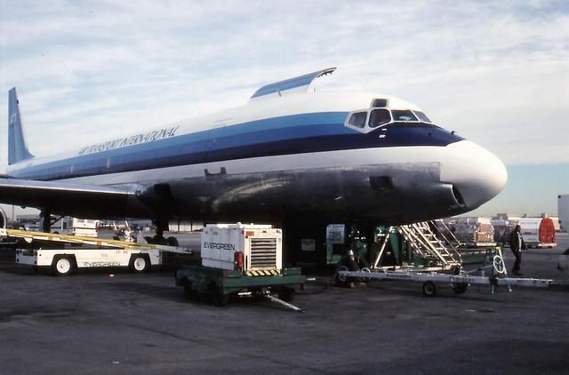 ATI Douglas DC8 JFK New York