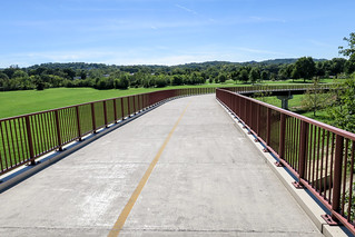 Bridge over the tracks on the Anacostia Riverwalk Trail | by Joe in DC