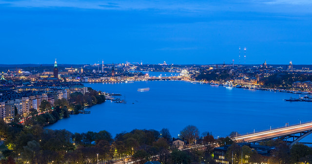 Stockholm from the sky