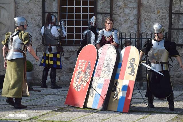 Ritariesitys Bledin linnassa