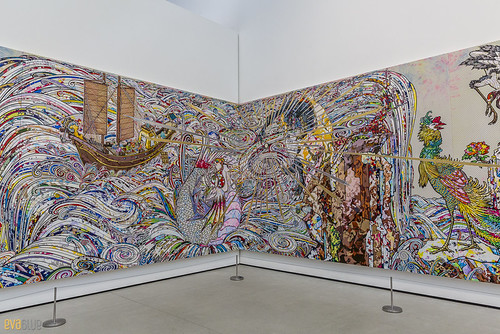 Takashi Murakami The Broad Museum Los Angeles 02 | by Eva Blue