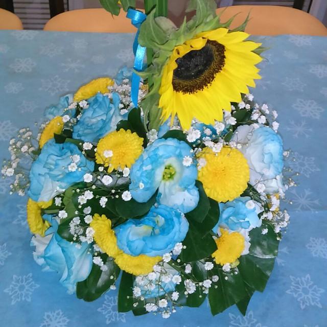 Arranjos De Mesa Com Flores Naturais Tema Frozen Fever Fes Flickr