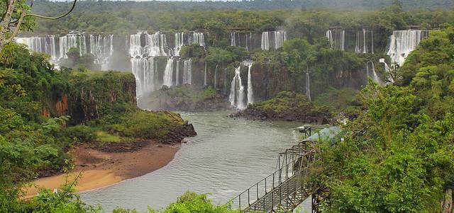 A beleza de Foz de Iguaçu - Brasil.