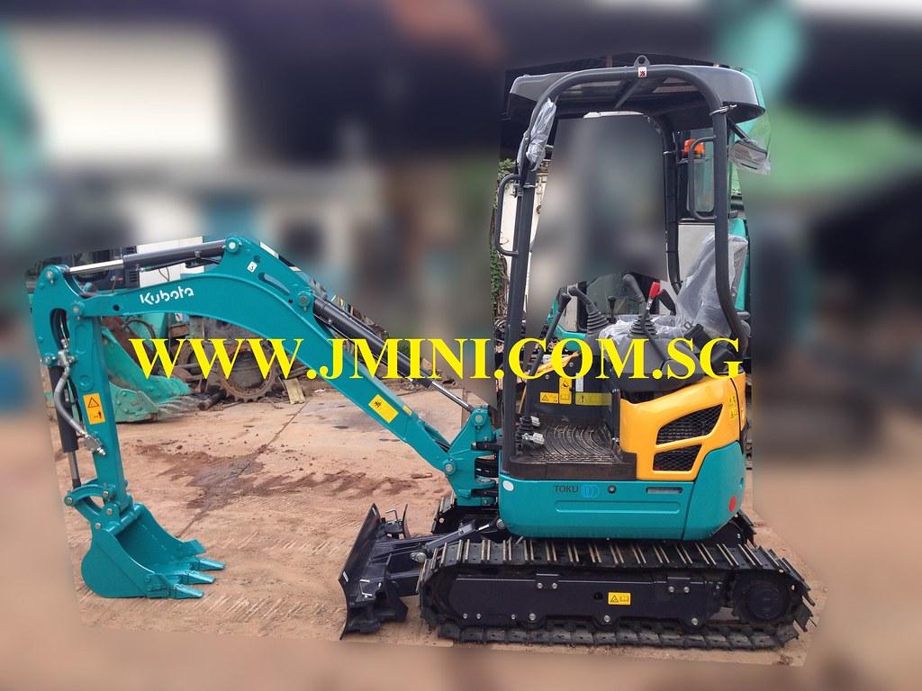 Kubota U17-3 Super Micro Mini Excavator With Toku Breaker