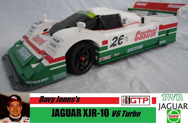 Flickriver: Photoset 'JAGUAR XJR10 LEGO IMSA GTP 1:8 scale' by greg_998