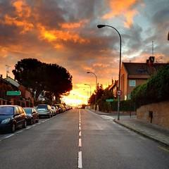 Sunrise in Pozuelo