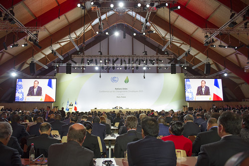 Secretary-General Addresses Climate Change Conference in Paris | by United Nations Photo