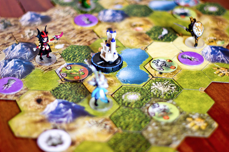 Best Adventure Board Games exploration in mage knight