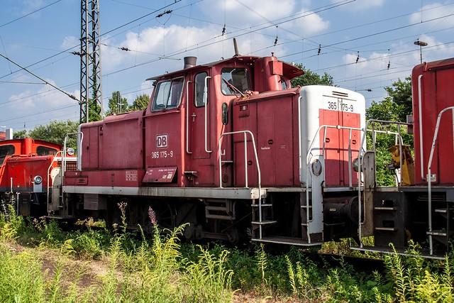 23.07.2006 Oberhausen Osterfeld. DB 365 175