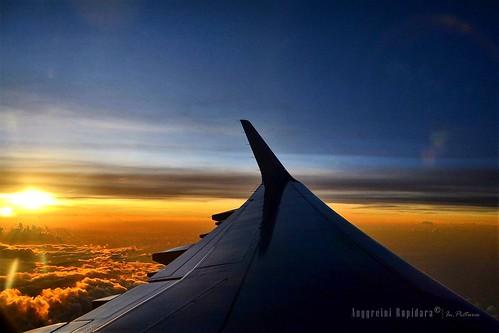 windowshot aerialphotography skycolors sky skyscape sunset aerialsunset horizon travel adianr
