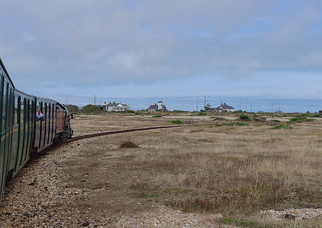 RD11774.   WINSTON CHURCHILL departing from Dungeness.