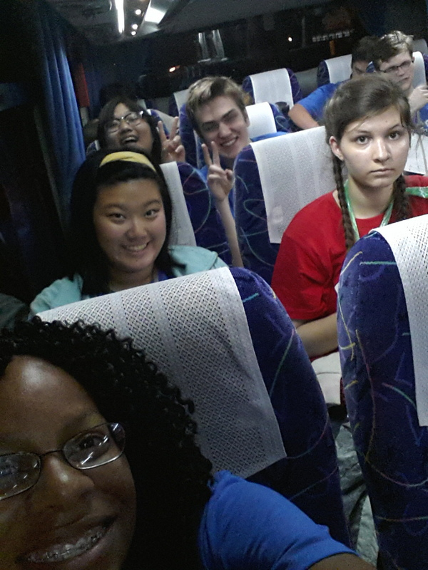 On a Charter Bus to Tokyo from Narita