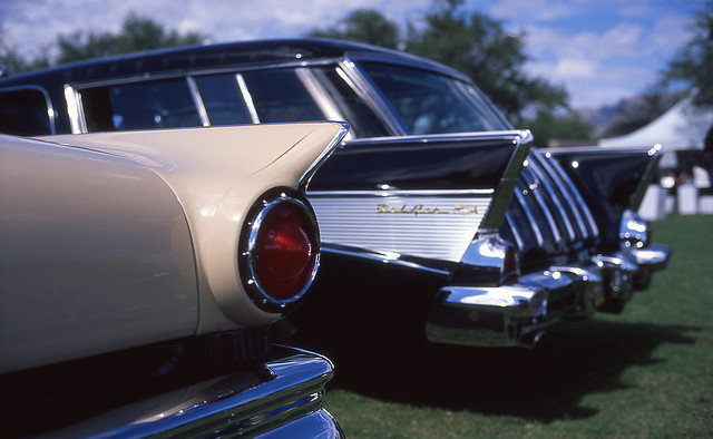 Car Show with Bessa R3A , Nokton 40mm and Velvia 50