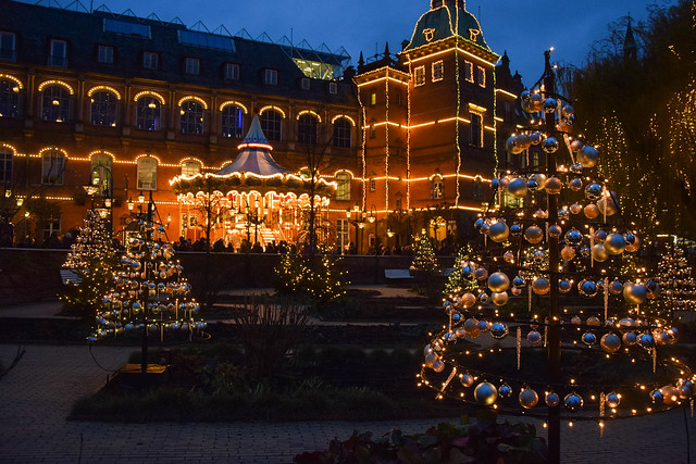 Christmas market at Tivoli