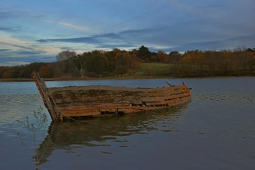 suffolk rurallandscape riverside tidal boats eastanglia riverdeben mud water twighlight sky