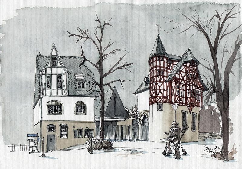 Limburg, die berüchtigte Bischofsresidenz