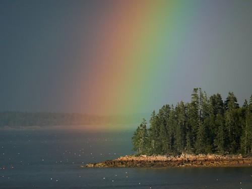 rainbow maine downeast