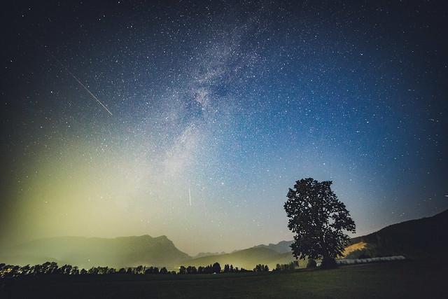 Stars and light